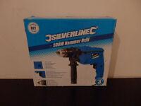 Silverline 500W Hammer Drill