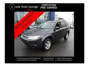 2012 Subaru Forester XConvenience-POWER HEATED SEATS-BLUETOOTH!
