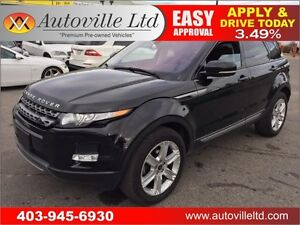 2013 RANGE ROVER EVOQUE NAVIGATION BCAMERA 90 DAYS NO PAYMENTS