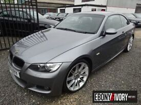 BMW 3 Series 325d M Sport 2dr Step Auto (grey) 2009