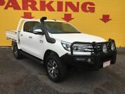 2015 Toyota Hilux GUN126R SR5 Double Cab White 6 Speed Sports Automatic Utility Winnellie Darwin City Preview