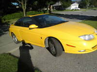 2001 Saturn S-Series leather Coupe (2 door)