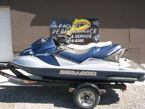 2004 SEADOO GTX 185 SUPER CHARGED,SEA DOO, TAG # 350
