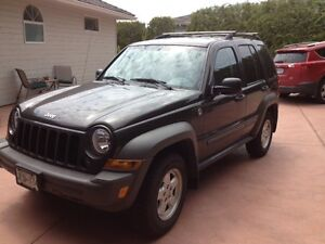 2006 Jeep Liberty Sport SUV, Crossover. LOW LOW KM's! $9000