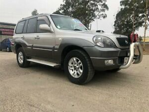 2005 Hyundai Terracan HP MY05 Highlander Silver 4 Speed Automatic Wagon South Nowra Nowra-Bomaderry Preview