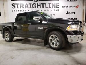 "2017 Ram 1500 Laramie/HEATED AND COOLED SEATS/8.4"" SCREEN"