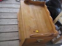 beautiful wood chest great for crafts