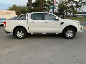 2014 Ford Ranger PX XLT 3.2 Hi-Rider (4x2) White 6 Speed Automatic Crew Cab Pickup West Croydon Charles Sturt Area Preview