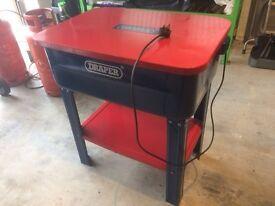 Draper Floor Standing Parts Washer 230V