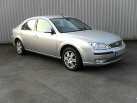 FORD MONDEO 2.0 EDGE TDCI 5d 116 BHP Clean & Tidy example -PX (silver) 2005