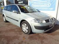 Renault Megane 1.5dCi 80 2004 Expression Estate £110 per year road tax