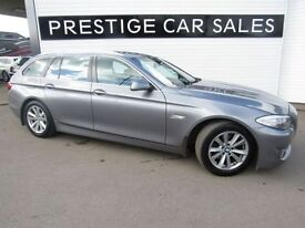 BMW 5 SERIES 2.0 520D SE TOURING 5d 181 BHP (grey) 2013