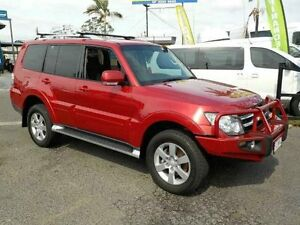 2008 Mitsubishi Pajero NS VR-X Red 5 Speed Sports Automatic Wagon Archerfield Brisbane South West Preview