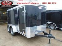 NEW 6 X 12 Atlas Cargo trailer - lowest price for a tandem axle