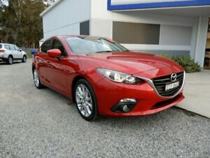 2014 Mazda 3 BM5238 SP25 SKYACTIV-Drive Red 6 Speed Sports Automatic Sedan Glendale Lake Macquarie Area Preview