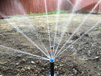 Sprinklers Lawn winterizing closing Irrigation watering systems
