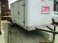 Enclosed utlity trailer for sale