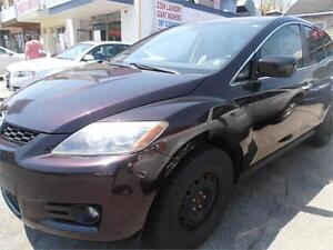 2007 Mazda CX-7 Leather Sunroof SUV Brown Only 154,000km
