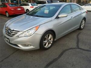 2012 Hyundai Sonata Limited, Navigation, Leather, Dual Sunroof!!