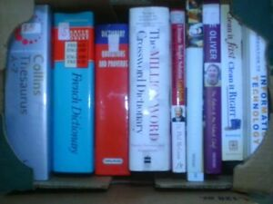 Dictionaries, Gardening, Cookbooks and more $1 Up