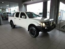 2013 Nissan Navara D40 MY12 ST (4x4) White 5 Speed Automatic Dual Cab Pick-up Thornleigh Hornsby Area Preview