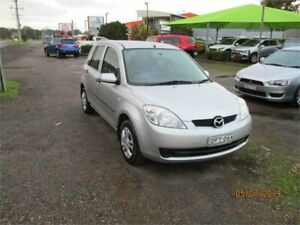 2006 Mazda 2 DY MY05 Upgrade Neo Silver 5 Speed Manual Hatchback Heatherbrae Port Stephens Area Preview