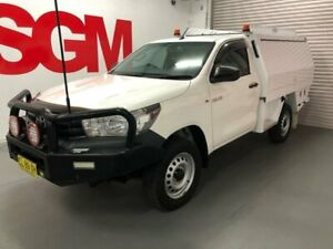 Toyota Hilux 2017 Workmate AUTOMATIC 4x4 Single Cab with CVS Service Body ex-NBN Government vehicle Seven Hills Blacktown Area Preview