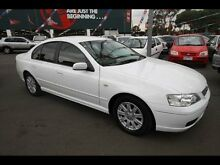 2005 Ford Falcon BA MkII Futura White 4 Speed Auto Seq Sportshift Sedan West Footscray Maribyrnong Area Preview