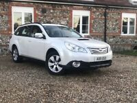 Subaru Outback 2.0 D SE AWD 5dr electric sunroof, heated leather seats, sat nav, air con,