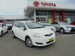 2008 Toyota Corolla ZRE152R Ascent Glacier White 4 Speed Automatic Hatchback Belmore Canterbury Area Preview