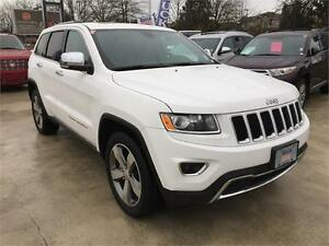 2015 JEEP GRAND CHEROKEE LIMITED LOW KMS!