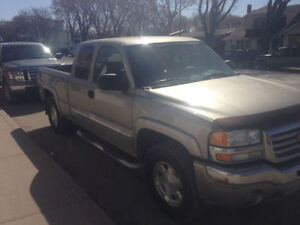 2003 GMC Sierra 1500 Z71 Needs Safety For Sale / Trade