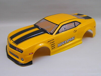 "RC CAR KAROSSERIE 1:10 ""US MUSCLE CAR"" ORANGEMETALLIC 190MM # HX046"