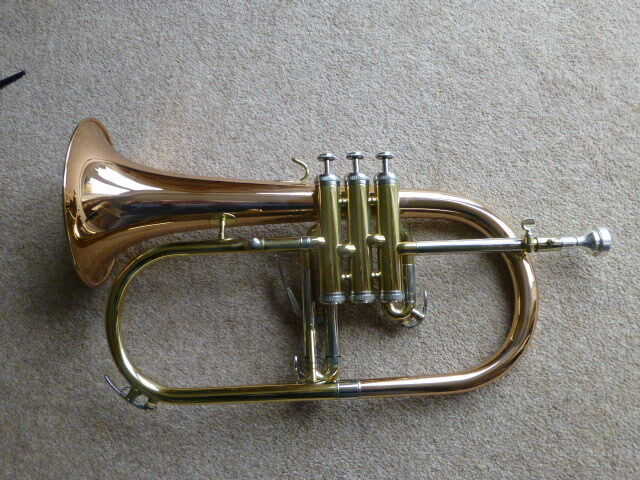 Flugel Horn Elkhart By Vincent Bach Usa In Worthing West Sussex