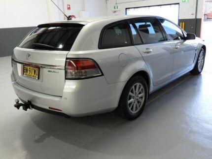 2013 Holden Commodore VF Evoke Sportwagon 5dr Spts Auto 6sp 3.6Gi [MY14] Silver Sports Automatic