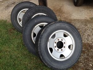 LT265 70 17 tires and rims
