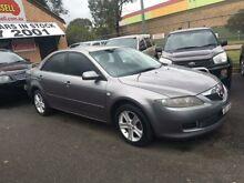 2006 Mazda 6 GG 05 Upgrade Grey 5 Speed Auto Activematic Sedan Campbelltown Campbelltown Area Preview