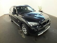 2011 BMW X1 E84 MY11 xDrive 20D Black Sapphire 6 Speed Automatic Wagon Clemton Park Canterbury Area Preview
