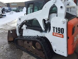 2012 BOBCAT T190 COMPACT TRACK LOADER-CAB WITH HEAT
