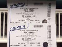 Roots Manuva - O2 Leeds - 2 tickets