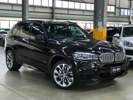 2014 BMW X5 F15 xDrive50i Wagon 5dr Spts Auto 8sp 4x4 4.4TT Black Sports Automatic Wagon Port Melbourne Port Phillip Preview