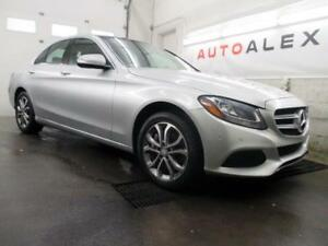 2015 Mercedes C300 NAVIGATION CAMERA TOIT PANO 4MATIC *80$/SEM*