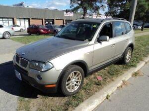 2007 BMW X3 3.0i - LEATHER - SUNROOF