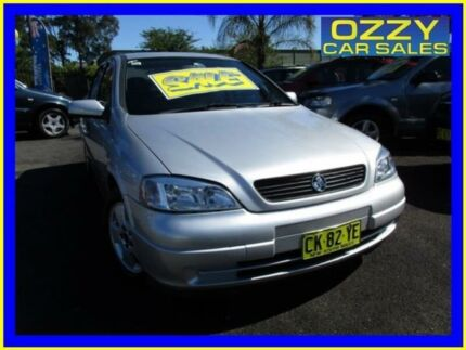 2002 Holden Astra TS CD Silver 4 Speed Automatic Sedan Minto Campbelltown Area Preview