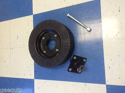 Bush Hog Rotary Cuttermower Tailwheel Complete Wfriction Hub 1 Axle Bolt