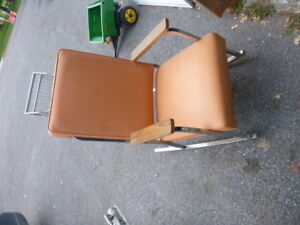 chaise berçante comme neuf