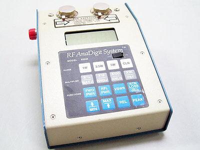 Coaxial Dynamics 83550 Digital Rf Anadigit Wattmeter Expediter