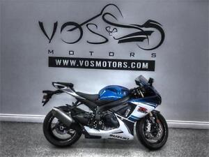 2016 Suzuki GSX-R750- V2807NP- No Payments For 1 Year**