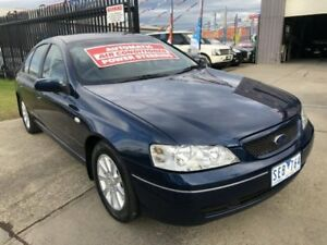 2003 Ford Falcon BA Futura Blue 4 Speed Auto Seq Sportshift Sedan Brooklyn Brimbank Area Preview