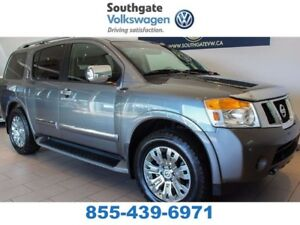 2015 Nissan Armada PLATINUM | LEATHER | NAV | HEATED SEATS